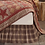 Thumbnail: VHC COUNTRY PRIMITIVE FARMHOUSE DAWSON STAR BED SKIRT