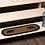Thumbnail: WYATT STENCILED BEAR JUTE STAIR TREAD OVAL LATEX 8.5X27