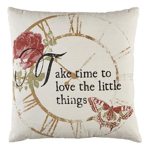 To Love The Little Things Pillow