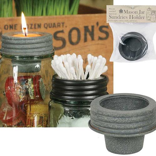 Mason Jar Tapered Cup Lid - Barn Roof