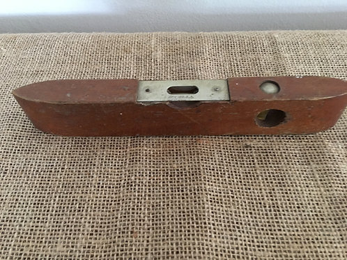 """Antique 9"""" Wooden Level Made in USA"""