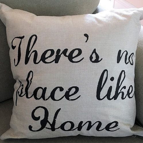 Country Primitive Pillow There's No Place Like Home