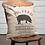 Thumbnail: Farmhouse Primitive VHC Sawyer Mills Pig Pillow