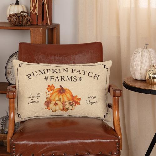 VHC FALL ON THE FARM PUMPKIN PATCH PILLOW 14X22