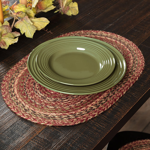 CIDER MILL JUTE PLACEMAT SET OF 6 12 X 18