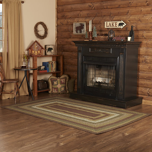 VHC TEA CABIN JUTE RUG RECTANGLE OR OVAL