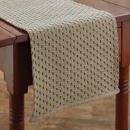 CHADWICK TABLE RUNNER- 2 Lengths & 7 Colors