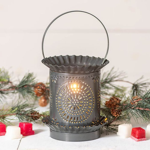 Irvin's Tinware Jumbo Wax Warmer with Chisel in Country Tin