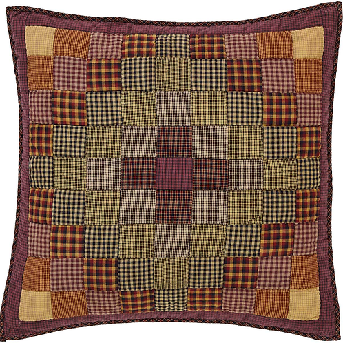 HERITAGE FARMS QUILTED EURO SHAM 26X26