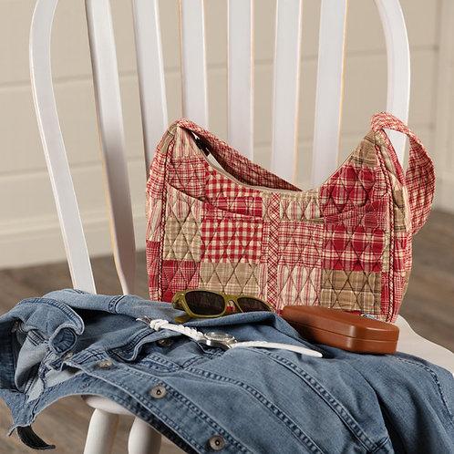 Bella Taylor Patchwork BRECKENRIDGE BLAKELY Handbag + FREE WRISTLET WALLET