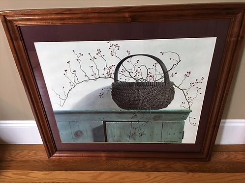 Country Primitive Country Basket Picture