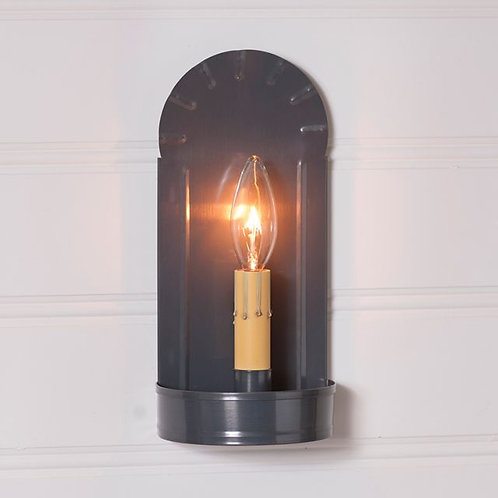 Irvin's Tinware Fireplace Sconce in Country Tin