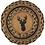 Thumbnail: TROPHY MOUNT DEER JUTE TRIVET