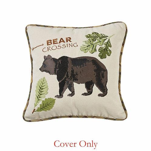 Park Designs Bear Crossings Pillow