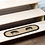 Thumbnail: SAWYER MILL CHARCOAL PIG JUTE STAIR TREAD OVAL LATEX 8.5X27