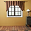 Thumbnail: HERITAGE FARMS PRIMITIVE CHECK SWAG CURTAIN SET OF 2 36 X 36 X 16