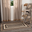 Thumbnail: COUNTRY PRIMITIVE SAWYER MILL CHARCOAL JUTE RECTANGLE RUG