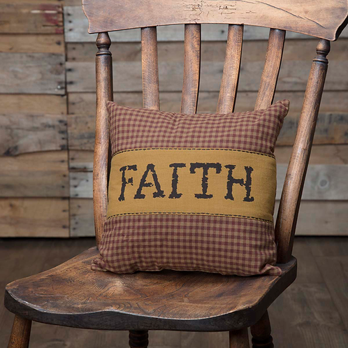 COUNTRY PRIMITIVE HERITAGE FARMS PILLOW 12 X 12