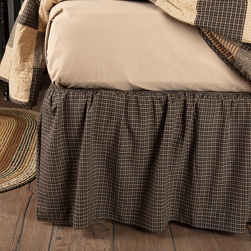 PRIMITIVE COUNTRY KETTLE GROVE BED SKIRT