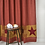 Thumbnail: NINEPATCH STAR SHOWER CURTAIN W/ PATCHWORK BORDERS 72X72