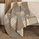 Thumbnail: PRIMITIVE SAWYER MILL BLOCK QUILTED THROW 60 X 50