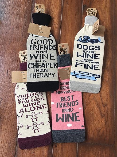 Primitives by Kathy Wine Bottle Socks