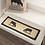 Thumbnail: SAWYER MILL CHARCOAL COW JUTE STAIR TREAD RECT LATEX 8.5X27