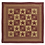 Thumbnail: COUNTRY PRIMITIVE NINEPATCH STAR QUILT