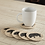Thumbnail: VHC SAWYER MILL CHARCOAL JUTE COASTERS PIG COW CHICKEN