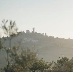 Blick auf San Giminiano