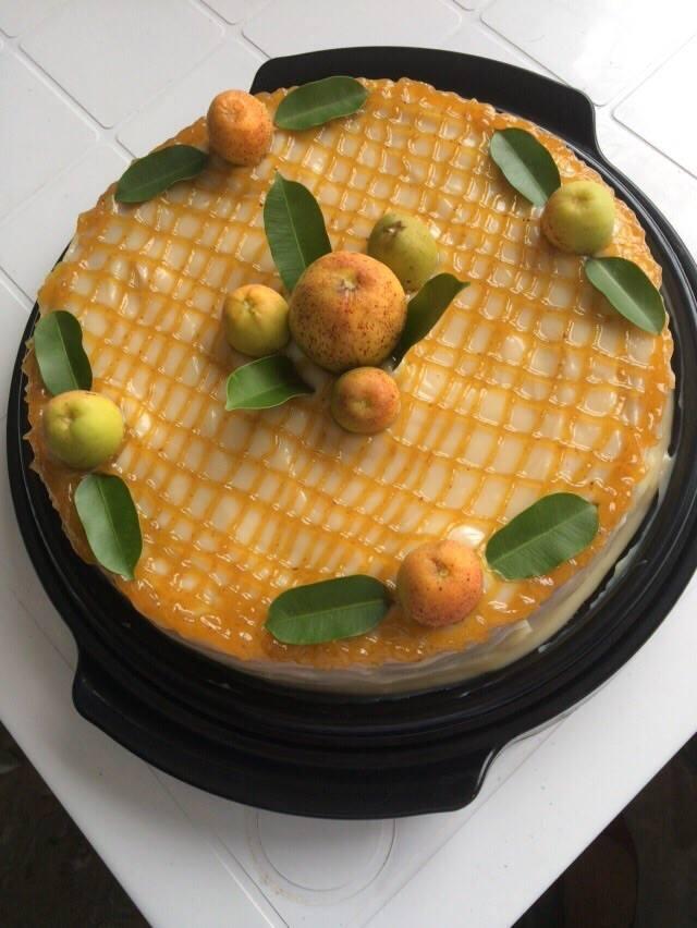 Torta de mangaba