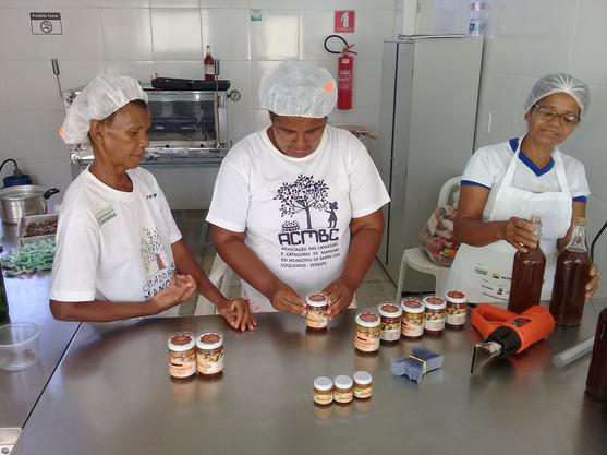 Oficina de Processamento de Alimentos -