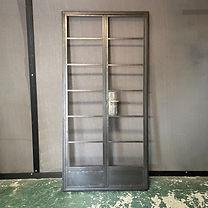 Refurbished Crittall Door and Side Windows