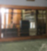 Art Deco Crittall Window Mirror
