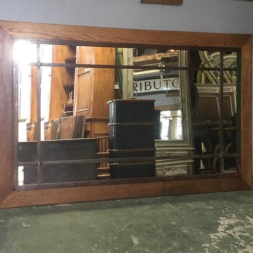 1930's Crittall Window Mirror