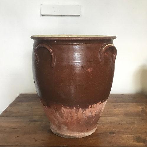 Victorian Glazed Stoneware Dairy Pot