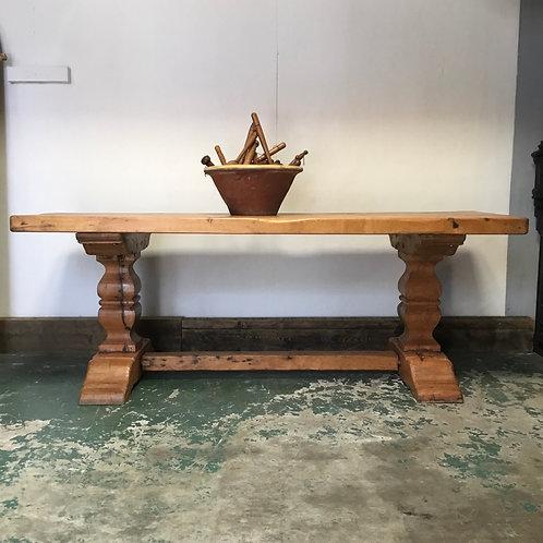Bespoke Reclaimed Oak Dining Table