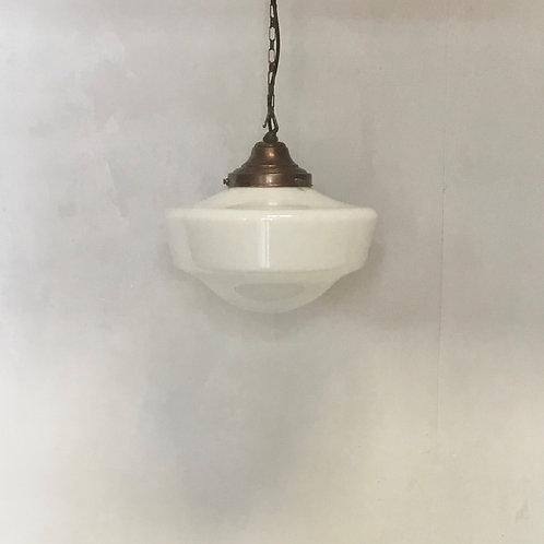 Victorian Opaline Pendant Light