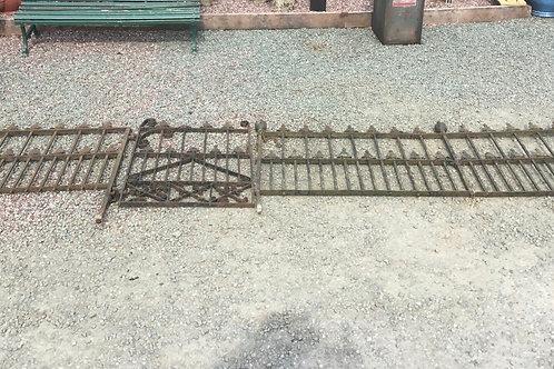 Regency Cast Iron Railings & Gate