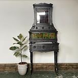 Victorian Cast Iron Washstand