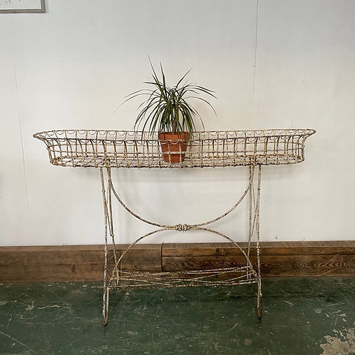 Victorian Wirework Plant Stand