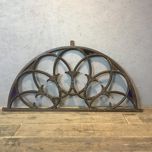 Georgian Cast Iron Door Fanlight