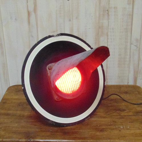 Vintage French Railway Signal Light