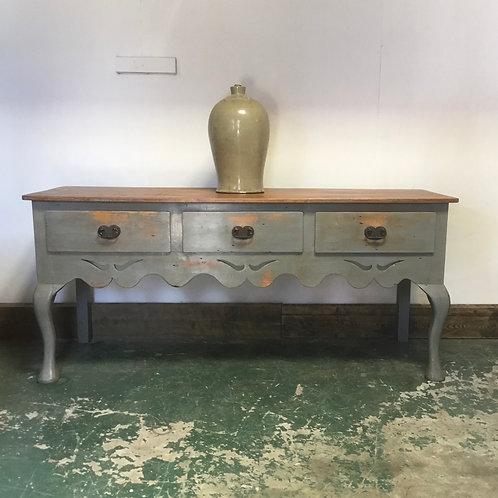 Vintage Pine Painted Sideboard