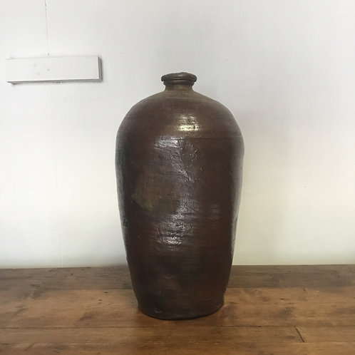 Victorian Glazed Stoneware Storage Pot
