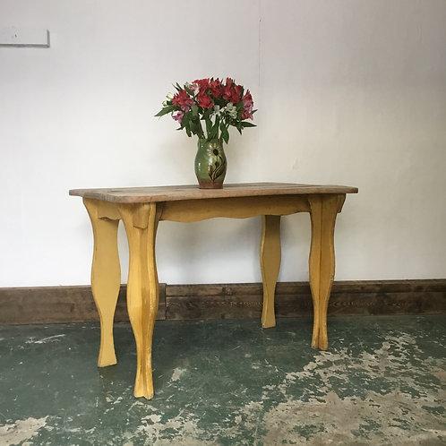 Vintage Bleached Oak Table