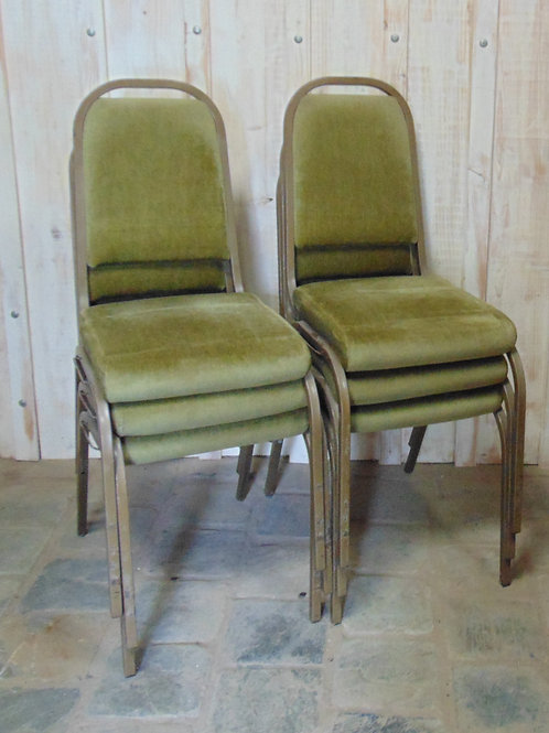 1970's Stacking Chairs