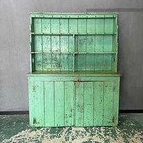 Victorian Painted Pine Welsh Dresser