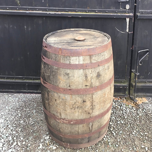 Oak Whiskey Barrell