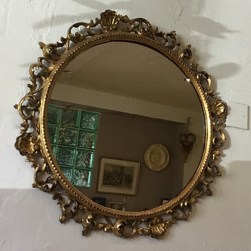 19th C. Gilt Florentine Mirror